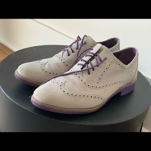 Menswear-inspired Cole Haan Alisa oxfords